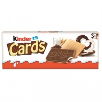 BISCUIT KINDER CARDS T2X5
