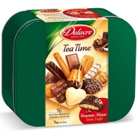BTE TEA TIME 1KG  DELACRE