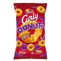 S.CURLY DONUTS 100G  VICO