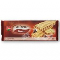 GAUFRETTE CACAO 175G   BF