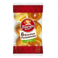 BRIOCHE PARIS.X6 F.DOREE