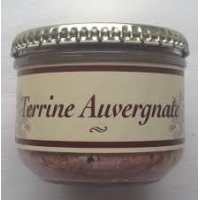 TERRINE AUVERGNATE BOCAL 180GR LE ROQUET