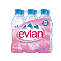 PACK 6X50CL. EVIAN