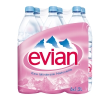 PACK 6X1L5 EVIAN #MP 56