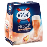 BLLE 6X25CL 1664 ROSE