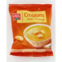 CROUTONS FROMAGE 90G.  BF
