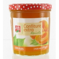 CONFITURE ABRICOT 370G BF