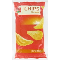 S.ALU.200G.CHIPS NAT.  BF