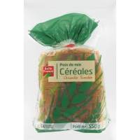 PAIN MIE CEREALES 550G BF