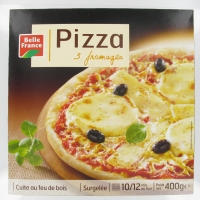 PIZZA 3 FROMAGES 400G. BF