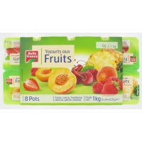 Y.BRASSE FRUITS.ASS.X8 BF