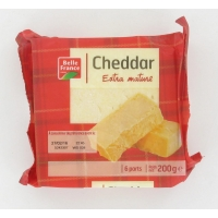 CHEDDAR PORTION 200G. BF