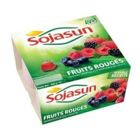SOJASUN FR.ROUGES 4X100G