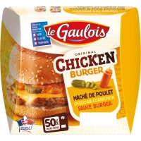 CHICKEN BURGER X1 150G.GA