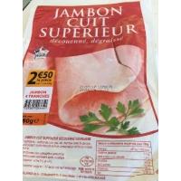 JAMBON SUP DD 4 TR 180GR
