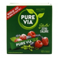 STICKS X40 STEVIA PUREVIA