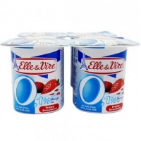 DESS/LACTE LIGHT FRAISE 4X125G
