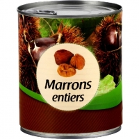 BTE4X4MARRONS ENTIERS561G
