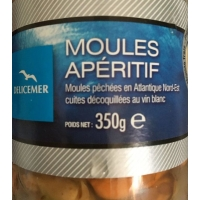 MOULES NATUREL 340GR