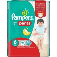 PAMPERS EASY UP XL T6 X19