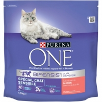 CROQ.CHAT1,4KG ONE SAUMON