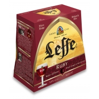 BLLE 6X25CL LEFFE RUBY