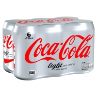BTE 6X33 COCA COLA LIGHT