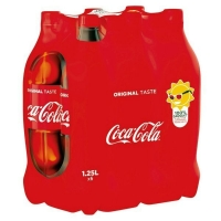 PET 6X1L25 COCA COLA#MP33