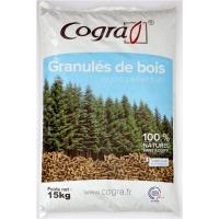 GRANULE DE BOIS SAC 15KG