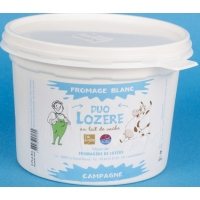 DUO LOZERE FROMAGE BLANC 500gr