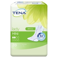TENA LADY SILKY MINI X20