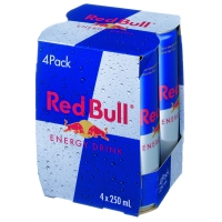 BTE 4X25CL RED BULL