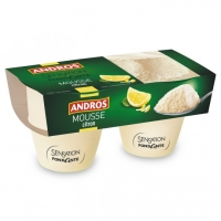MOUSSE CITRON 2X80G ANDRO