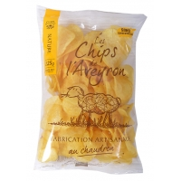CHIPS DE L'AVEYRON NATURE 125G